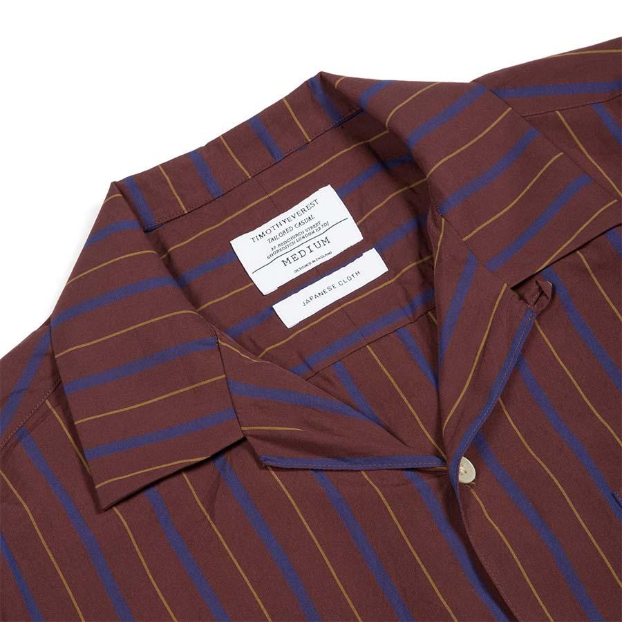 tomothy everest cuban collar shirt