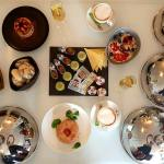 Breakfast egg and bacon Tuscany eggs breakfast luxury suites Amsterdam