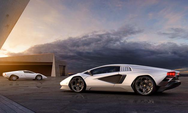 Lamborghini Countach LPI 800−4 – Modern Super Car Reimagined