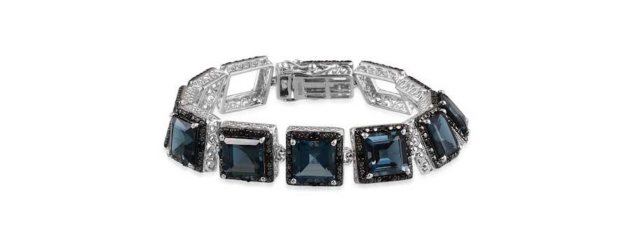 London Blue Topaz Bracelet