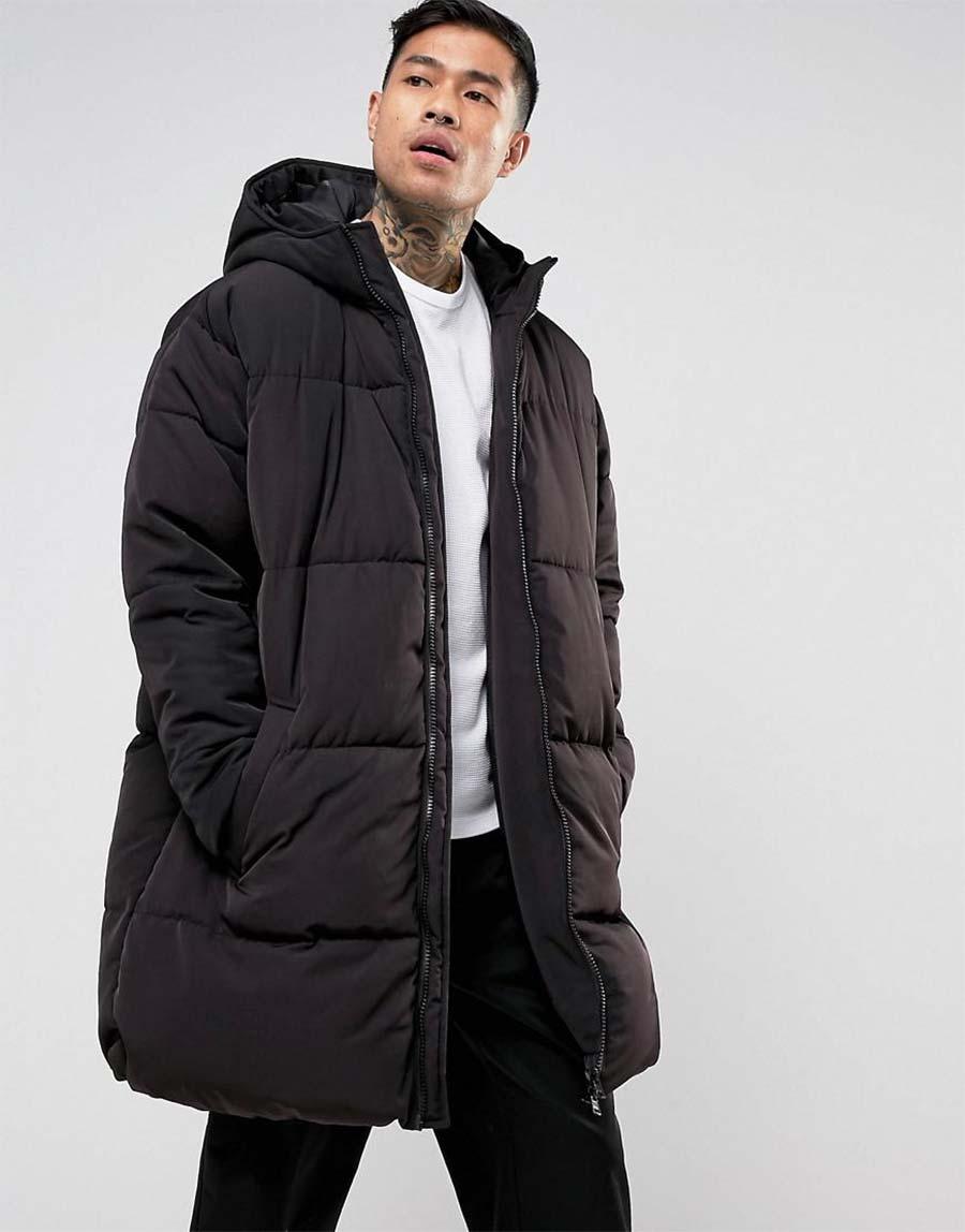 oversized puffer jacket man