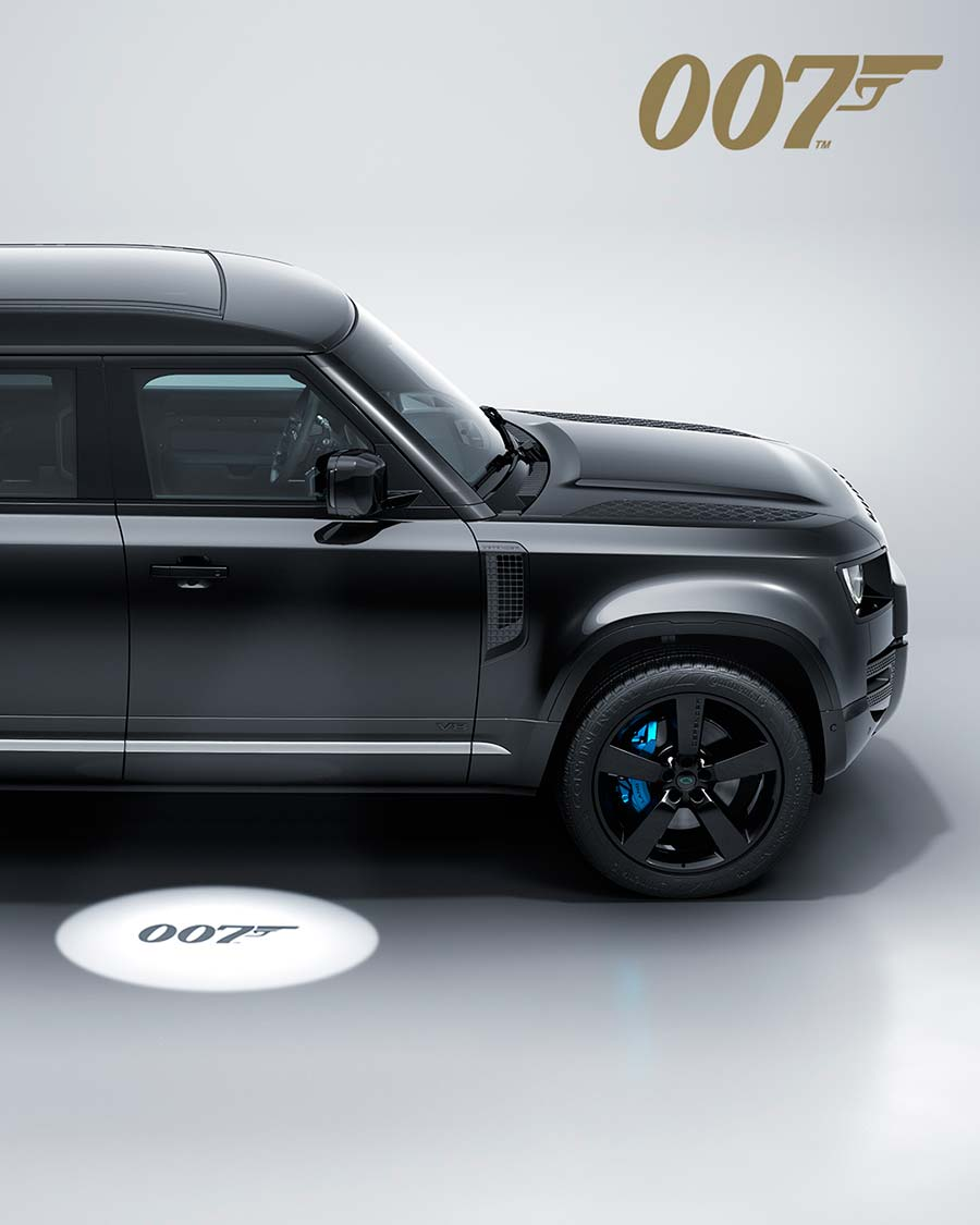 New Land Rover Defender V8 Bond Edition Inspired by No Time to Die