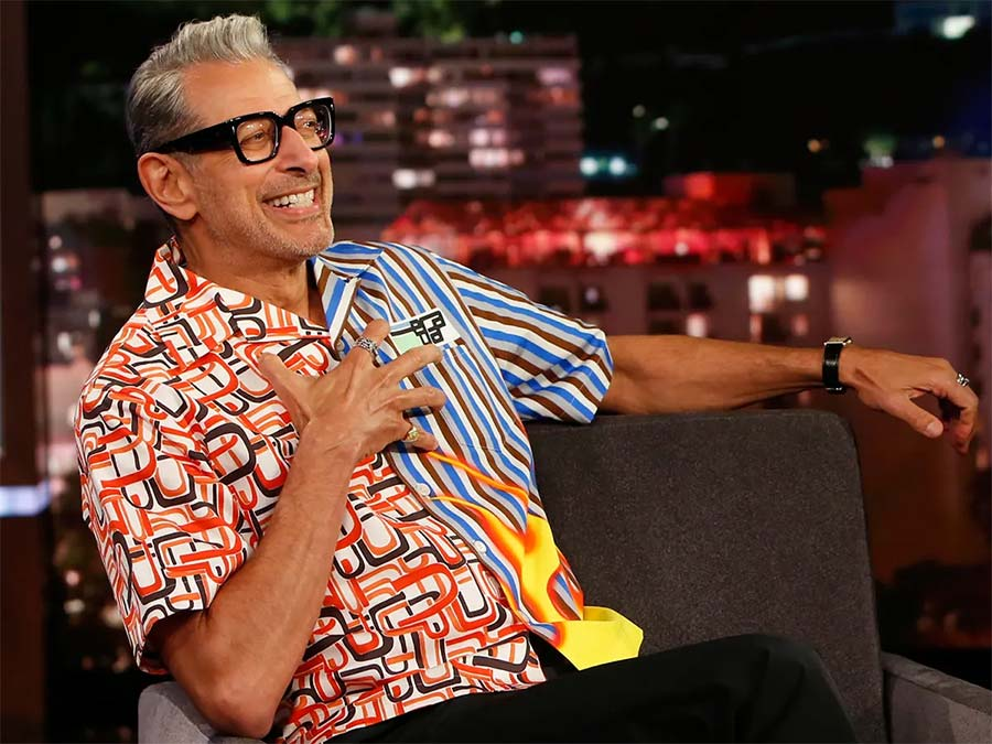 Jeff Goldblum Fashion