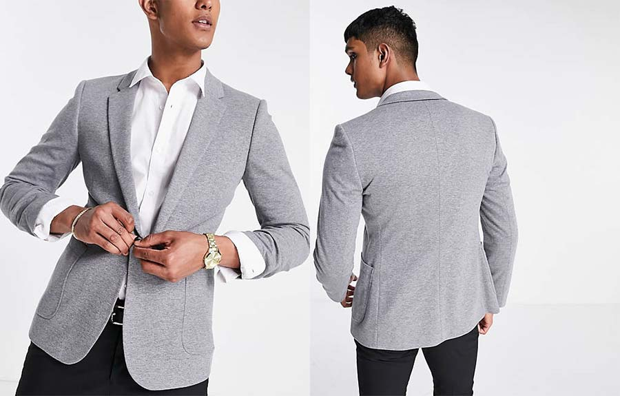 Super skinny blazer ASOS Design