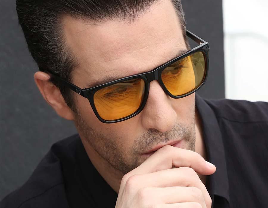 Designer Yellow Sunglasses