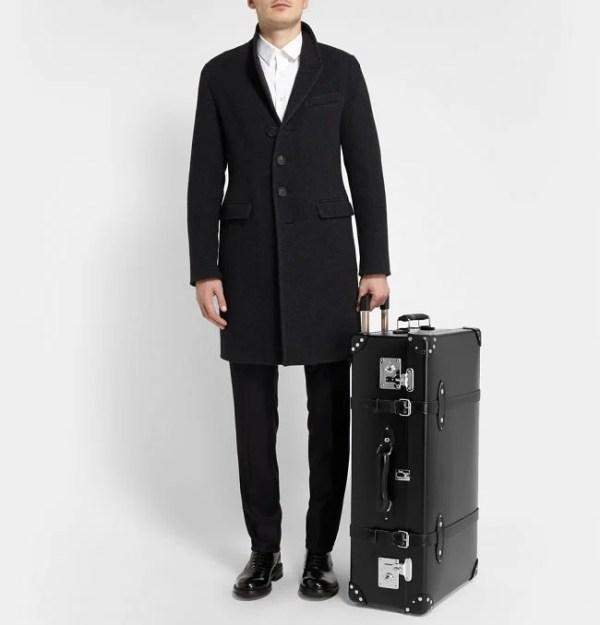 GlobeTrotter x Mr Porter Suitcases