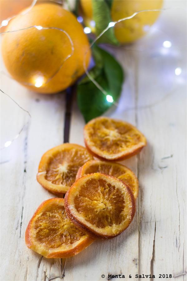 Giorno 15: Fette di arance candite