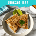 vegan quesadillas pin image 4
