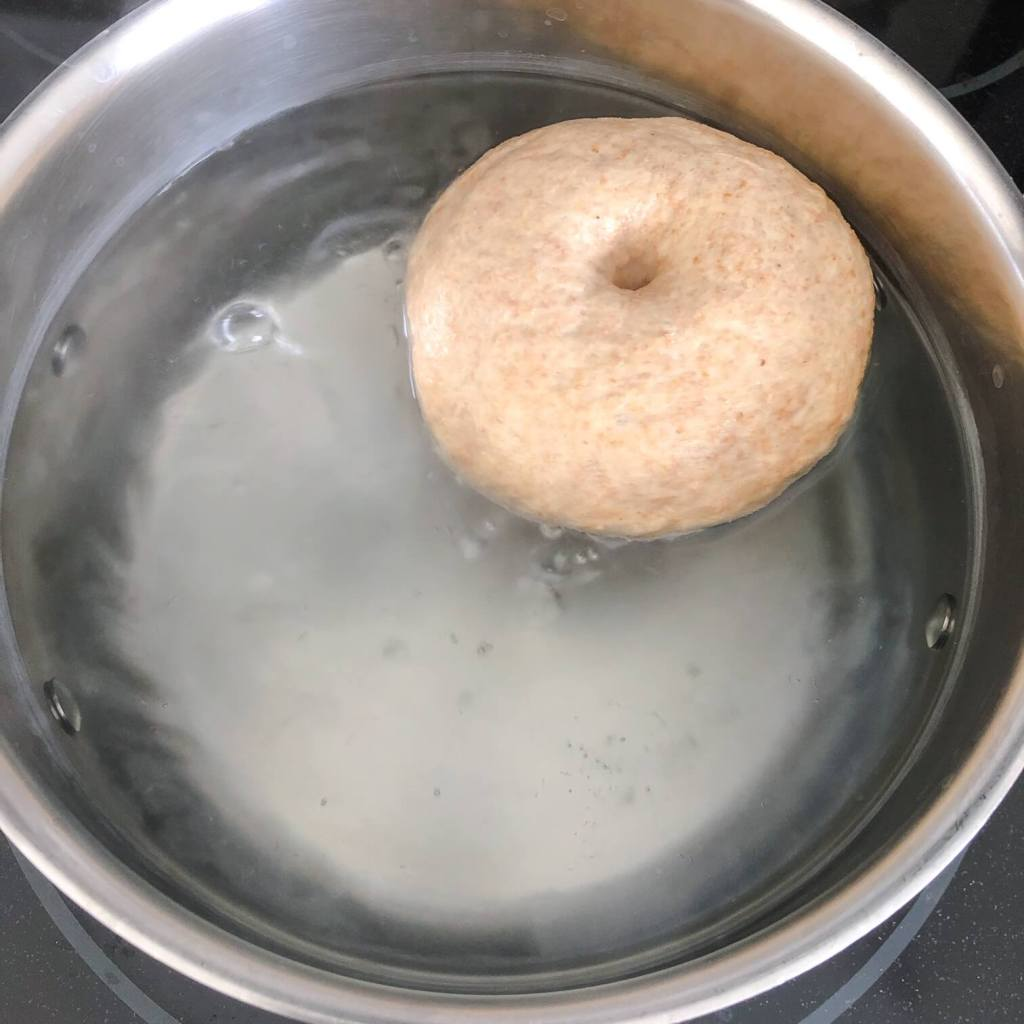 bagel recipe boiling step