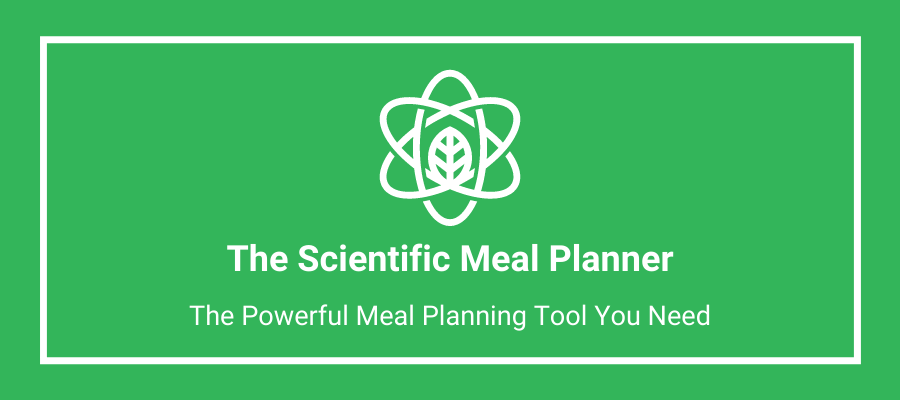 Scientific meal planner banner 1