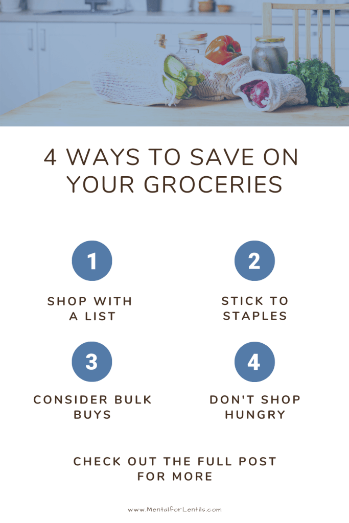 Meal planning on a budget pin image 3