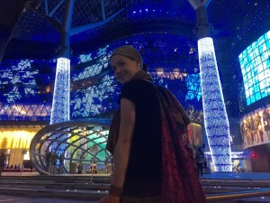 Orchard Road bei Nacht | Lichtspektakel & Konsumwahnsinn
