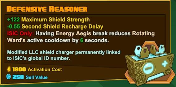 ISIC - Defensive Reasoner