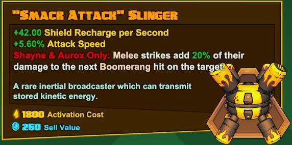 Shayne and Aurox - Smack Attack Slinger