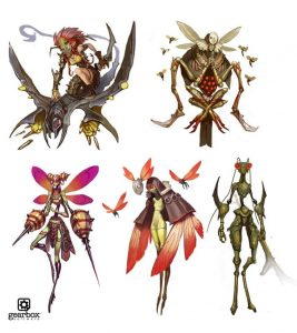 insect faction concept art for battleborn
