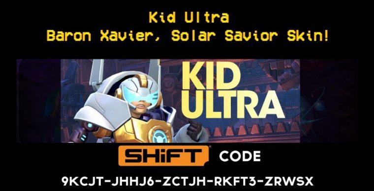 kid ultra gold skin - battleborn