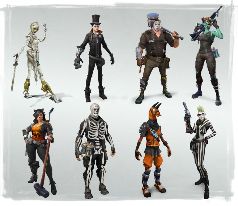 the fortnitemares update coming Halloween Line up 2017