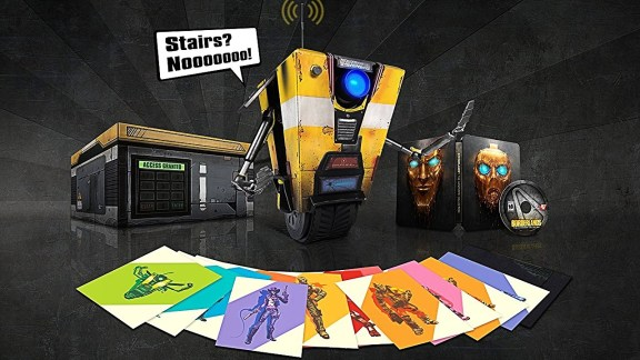 Borderlands The Handsome Collection- Claptrap-in-a-Box Edition Preview