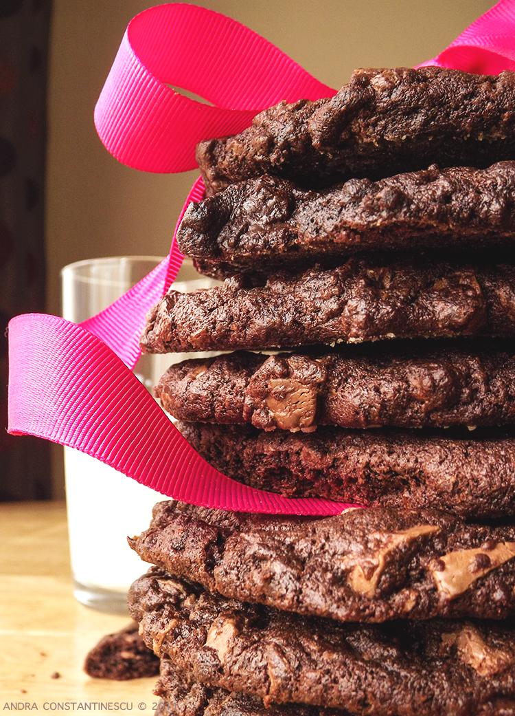 reteta cookies cu ciocolata