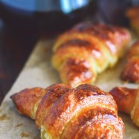French croissants - o reteta complexa si cateva secrete pentru obtinerea unui croissant autentic