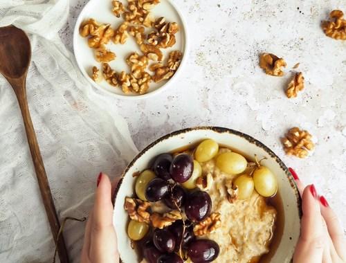 reteta porridge cu struguri
