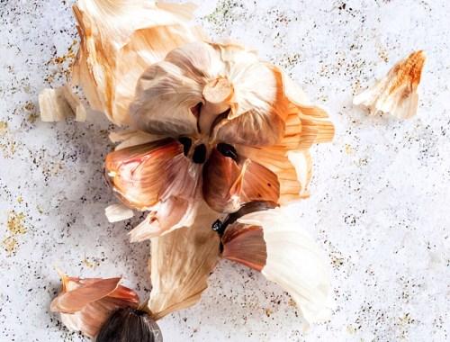 Usturoi negru/Usturoi maturat/Usturoi fermentat