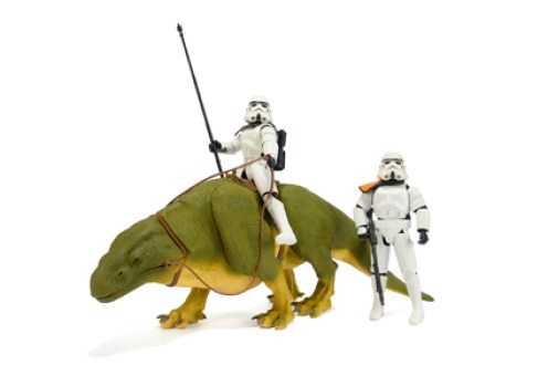 "Dewback & Sandtrooper 12"" Doll 2000"