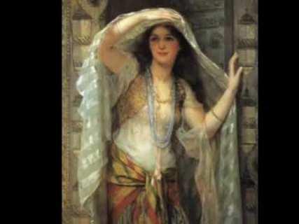 Danzatrice del ventre araba
