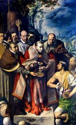 San Carlo comunica gli appestati - Tanzio da Varallo
