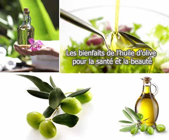 Les bienfaits de l'huile d'olive - 580 x 480