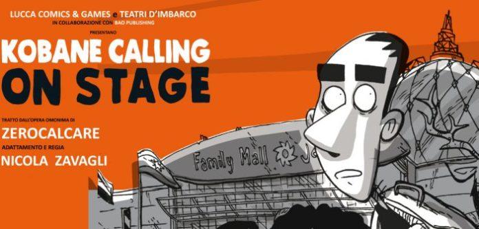 Kobane Calling on stage: Zerocalcare dal fumetto al teatro