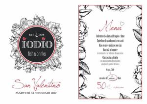 Il menu di IODIO RISTORANte