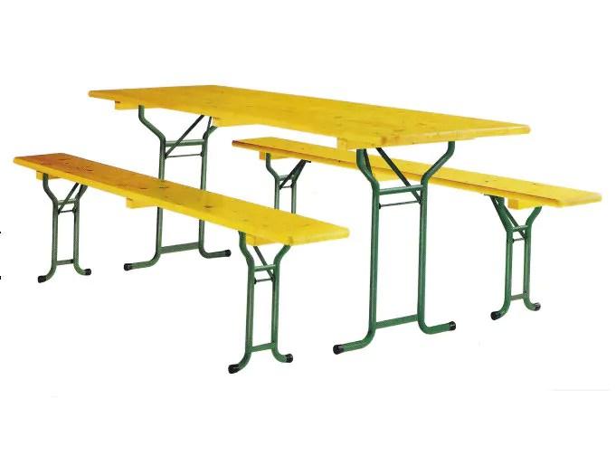 ensemble table pliante 2 bancs