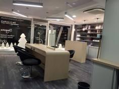 Salon de Coiffure Lysa MEYER , agencement menuiserie ROHMER