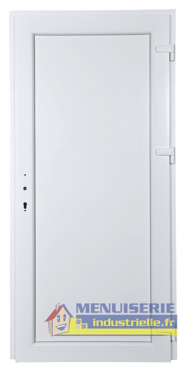 porte de service pvc pleine 205 x 90 cm