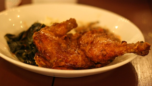 Fried Chicken at Tart. All photos by Bun Boy Eats LA