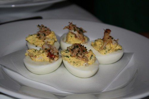 Deviled Eggs at Jar. All photos by Bun Boy Eats LA
