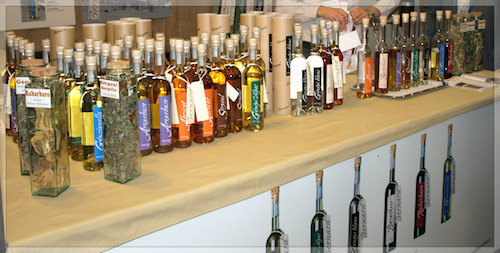Various liqueurs and digestifs. All photos by Marla Gulley Roncaglia