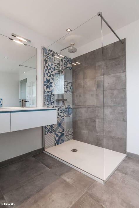 salle de bain a renover menuistore