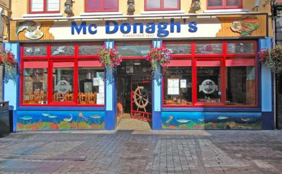 Image result for mcdonagh's galway