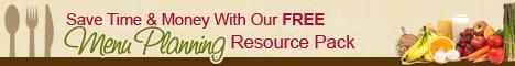 Menu Planning Resource Pack