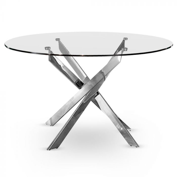 table croisade chrome