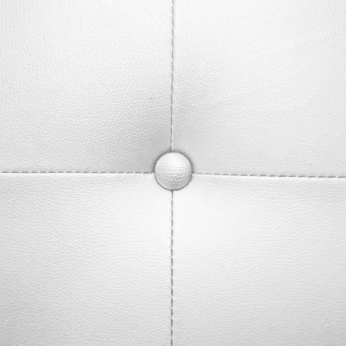 tete de lit luxor 180cm blanc