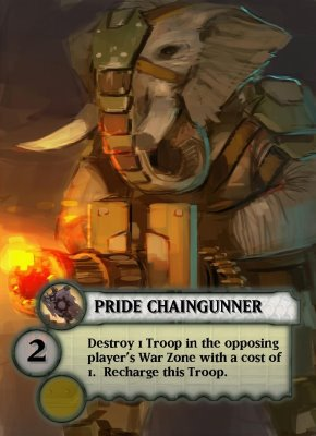 ^Pride Chaingunner (photo by Small Box Games)