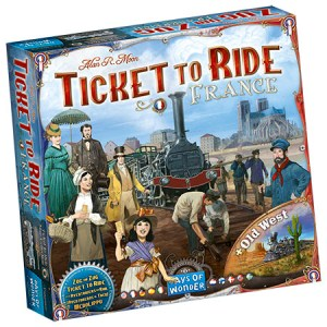 Ticket to Ride - France (Days of Wonder)