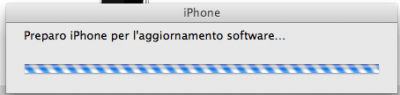 Preparo iPhone per l'aggiornamento software