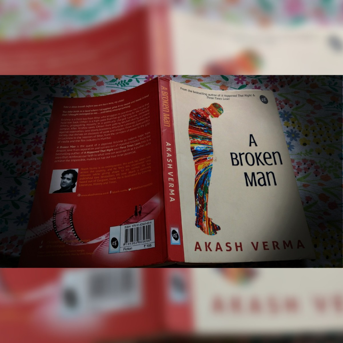 Book Review- A Broken Man by Akash Verma