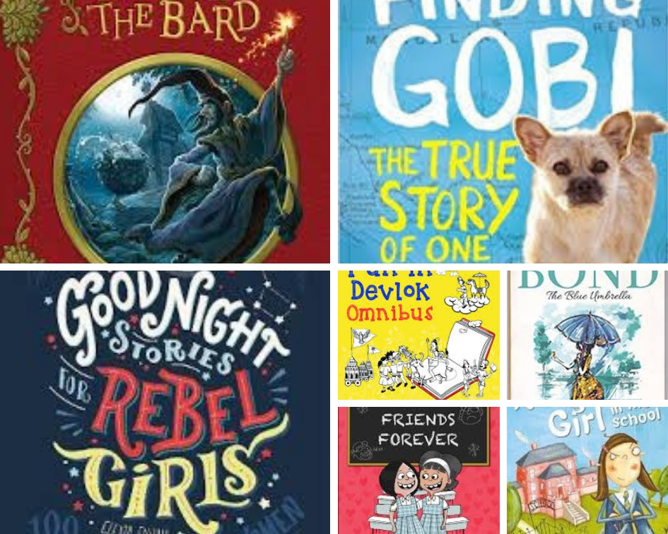 Seven Books Recommended For Ten Year Old Readers