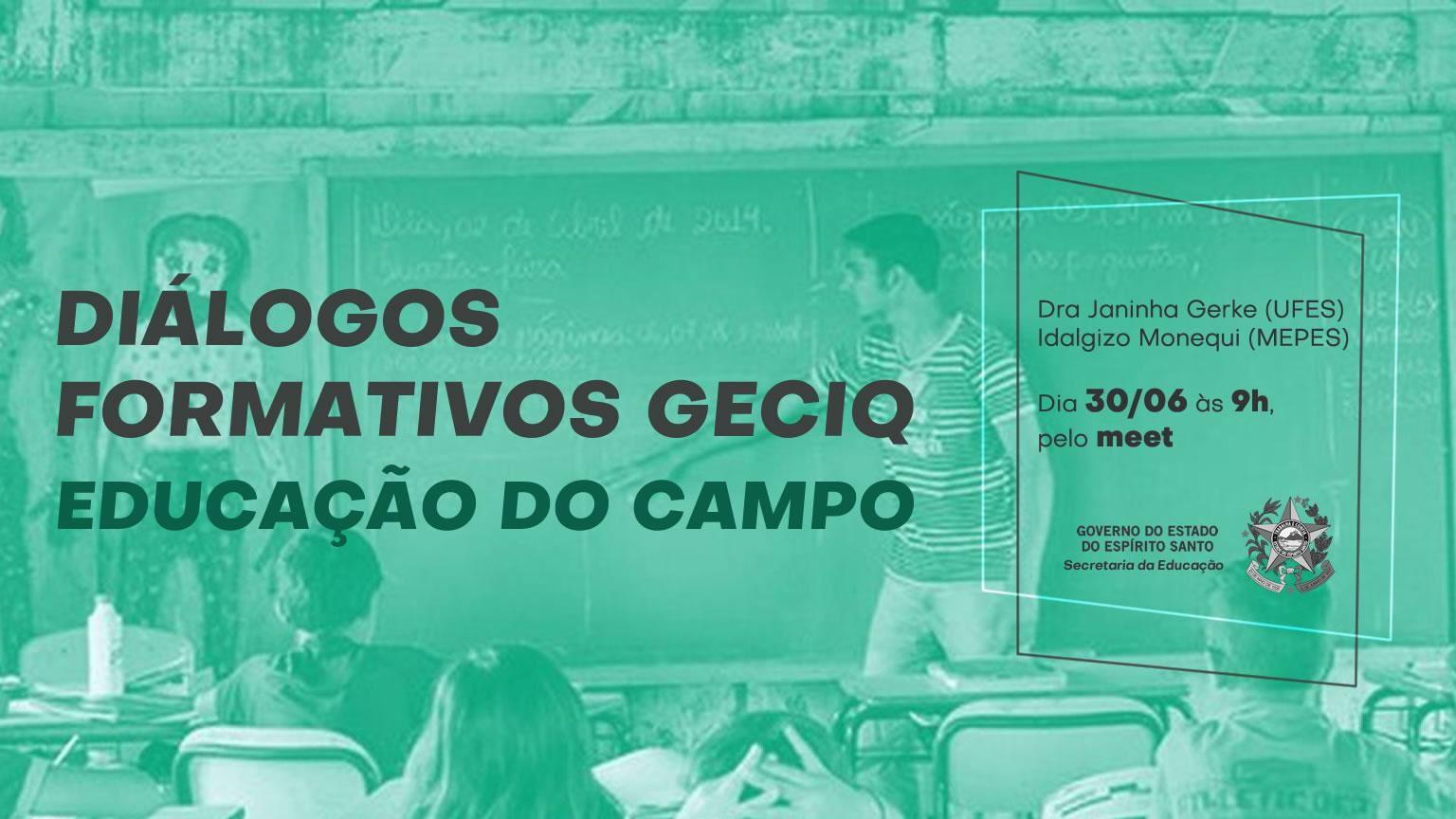 Formação sobre Educação no Campo será realizada na próxima terça-feira (30)