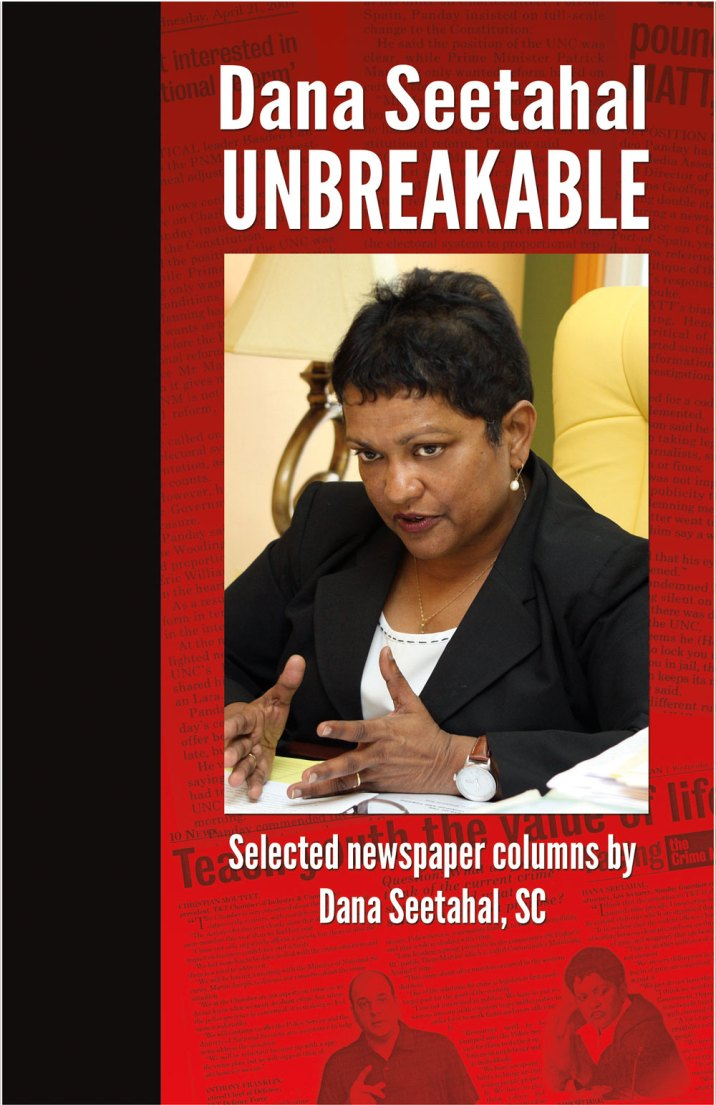 Dana Seetahal Unbreakable book cover